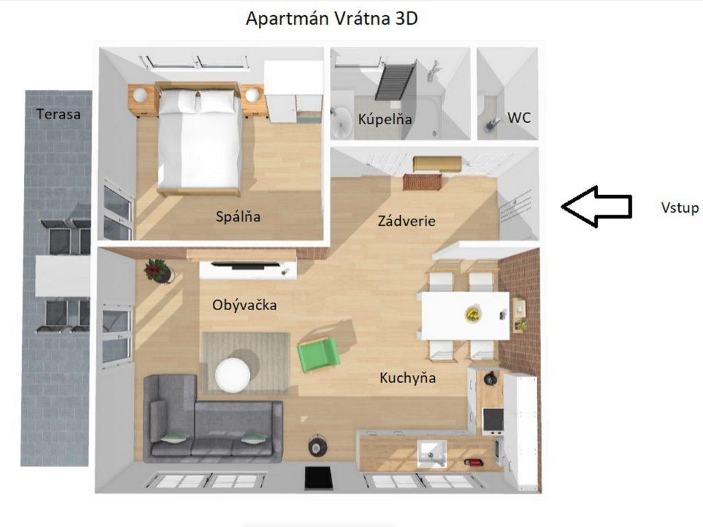 Apartmán 3D 8